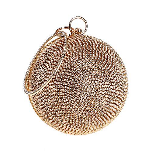 Golden della RAPIDLY frizione Sacchetto sig della di di modo sera della B borsa borsa perla WUqOrWn