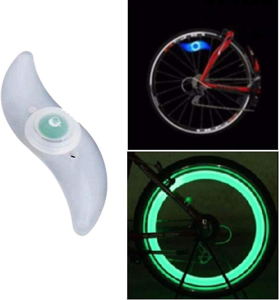 DairxuBike - Rueda de Bicicleta para radios de Bicicleta, con luz ...