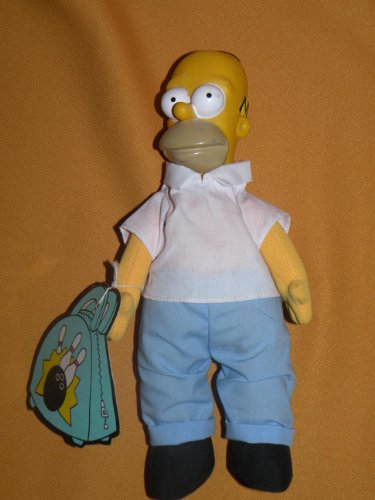 Simpsons Burger King Homer Plush