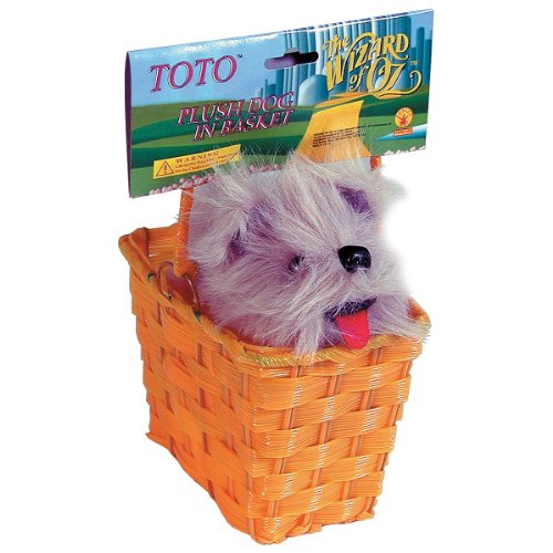 Toto in Basket Costume Accessory (Toto From Wizard Of Oz Costume)