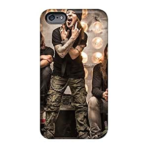 Iphone 6 XiC15874SWns Custom Fashion Children Of Bodom Band Pattern Shock Absorbent Hard Phone Case -JonBradica