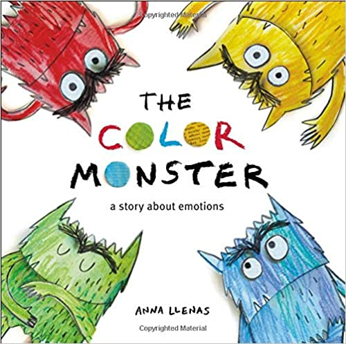 The Color Monster: A Story about Emotions(Inglés) Tapa dur