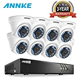 ANNKE 8-Channel HD-TVI 3MP Security DVR Recorder and (8) 1920TVL 1080P Outdoor Fixed CCTV Cameras Surveillance System, with the latest H.264+ Compression, Smart Motion Detection & Email Alert