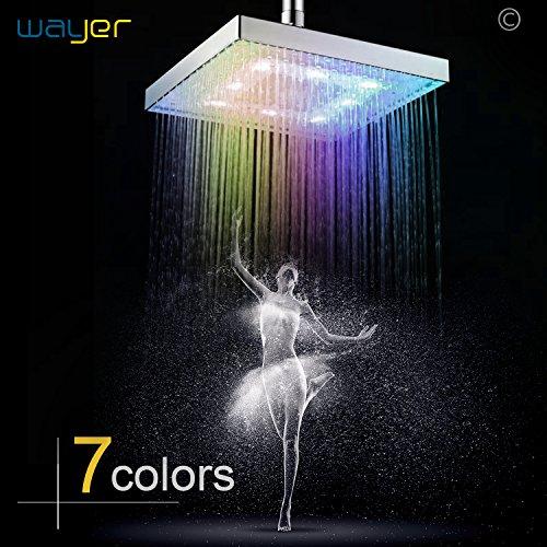7 Color Led Light Shower Head in Florida - 9