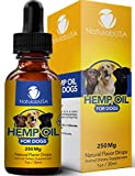 #3: Hemp Oil For Dogs - Fast Results - Dog Anxiety & Stress Relief - Dog Arthritis & Joint Health - APPLY TO TREATS - Separation Anxiety Relief - Organic Hemp Seed Oil - NatulabUSA - 250mg - 1oz