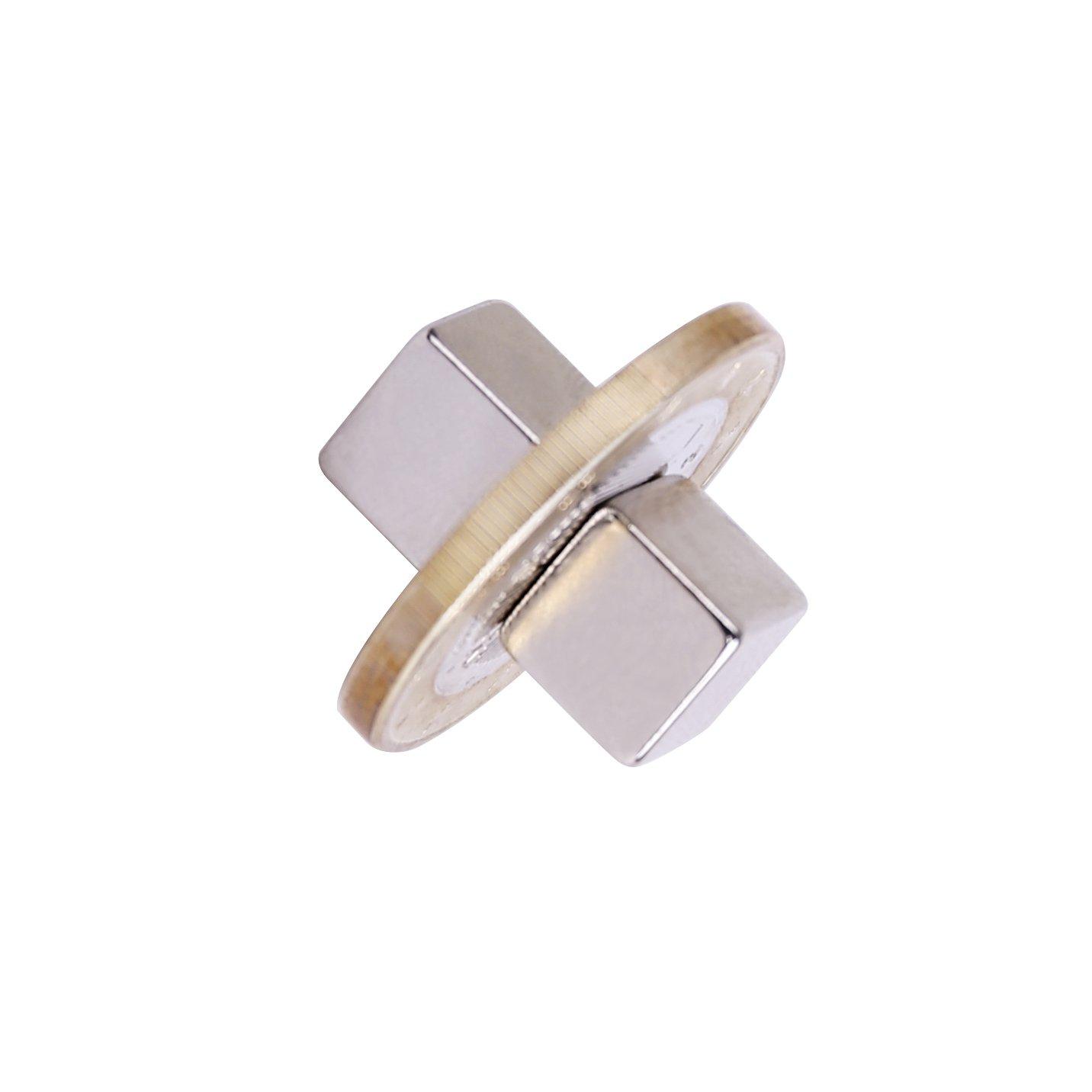20 pieza Neodimio Imán 8x8x8 mm cubo Extrem Fuerte 2,5 kg de fuerza (Pack de 20) Magenesis® MGNT05-20
