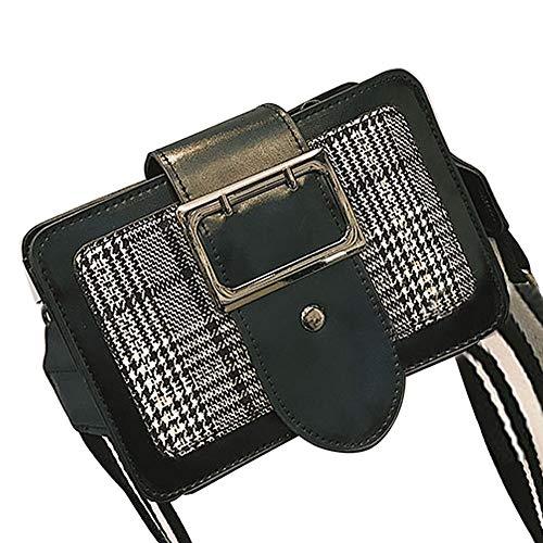 (Women's Crossbody,Clearance!AgrinTol Girl Fashion Flap Bag Pretty Broadband Shoulder Bag)