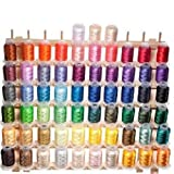 63 Brother Colors Embroidery Machine Thread (Kitchen)