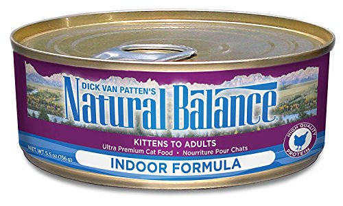 Natural Balance Indoor Ultra Premium Formula Canned Cat Food, 5.5 Oz