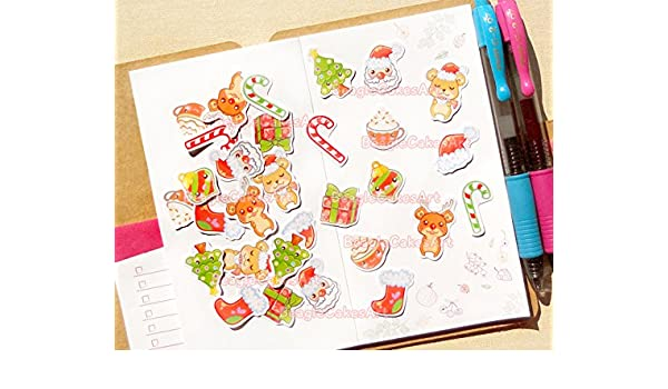 Amazon.com: Christmas Planner Stickers - Christmas Sticker ...