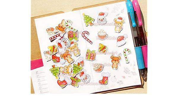 Amazon.com: Christmas Planner Stickers - Christmas Sticker ...