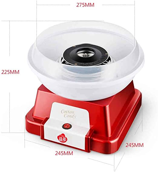 JCOCO Máquina de dulces de algodón para niños mini máquina de ...