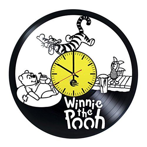 Winnie Pooh Honey Vinyl Record Wall Clock - Get unique baby,