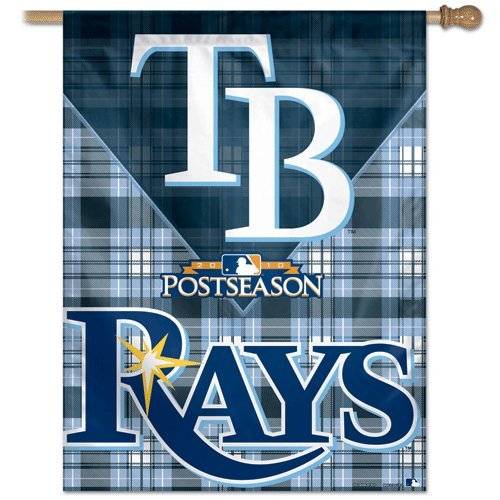 """Tampa Bay Rays Banner/vertical flag 27"""" x 37"""""""