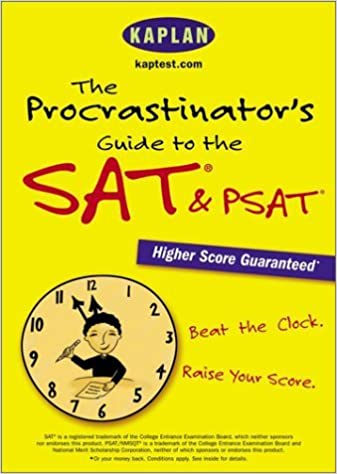 Book The Procrastinator's Guide to the SAT & PSAT: Beat the Clock, Raise Your Score by Kaplan (2002-12-24)