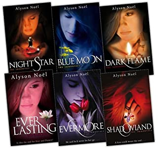 The Immortals Series 6 Books Collection Set Alyson Noel Everlasting, Night Star