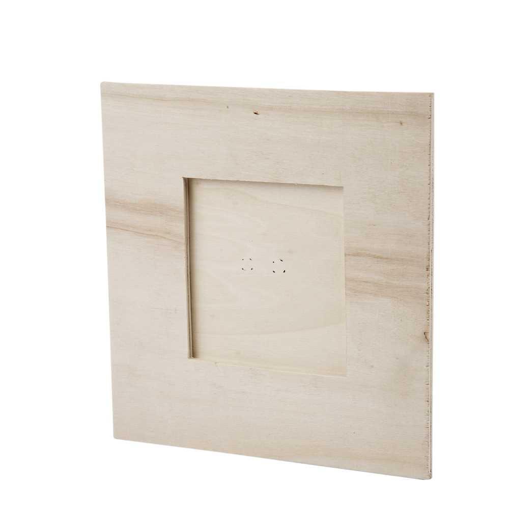 Creativ 1-Piece 16 x 16 cm 8 x 8 cm Plywood Picture Frame Picture ...