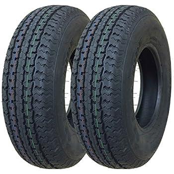 2 New Premium Grand Ride Trailer Tires ST 185/80R13 8PR Load Range D - 11059 …