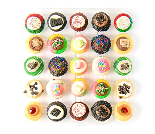 Baked by Melissa Cupcakes The Latest & Greatest - Assorted Bite-Size Cupcakes, 25 Count]()