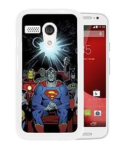 Personalized Motorola Moto G With iron man White Customized Photo Design Motorola Moto G Phone Case