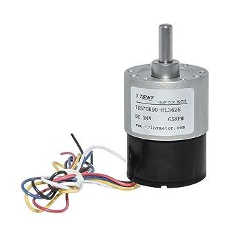 DC motor de engranaje sin escobillas de alta torsión eléctrico de ...