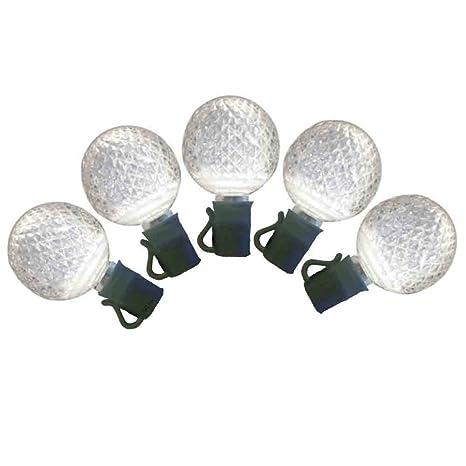 warm white g25 led christmas lights 25ft g25 warm white globe light strings