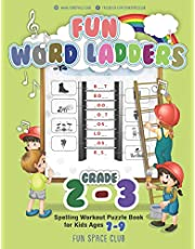 Fun Word Ladders Grades 2-3: Daily Vocabulary Ladders Grade 2-3, Spelling Workout Puzzle Book for Kids Ages 7-9