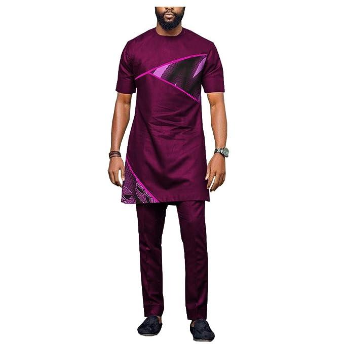 Amazon.com: Africano de los Hombres de la Ropa Dashiki Tops+ ...