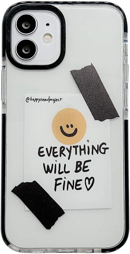 Happy Smile Design Clear Case for Apple iPhone 11 Pro 5.8