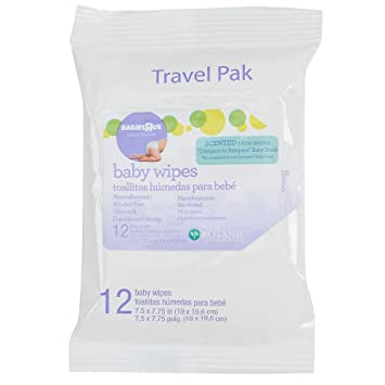 Babies R Us - Scented Baby Wipes Travel Pak 12 Count