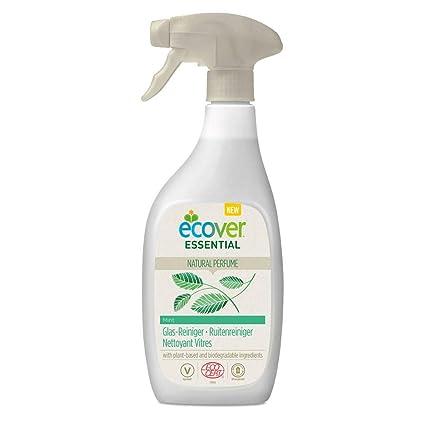 Ecover Essential: Vidrio limpiador de menta – Spray 500 ml