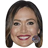 Celebrity Cutouts Jessica Chobot (Smile) Big Head. Larger Than Life mask.