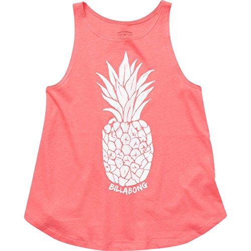 Billabong Big Girls' Watercolor Pineapple Tank, Passion Fruit, XS Billabong Girls Tank Top