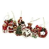 Gisela Graham Box of 12 Mini Christmas Tree Decorations