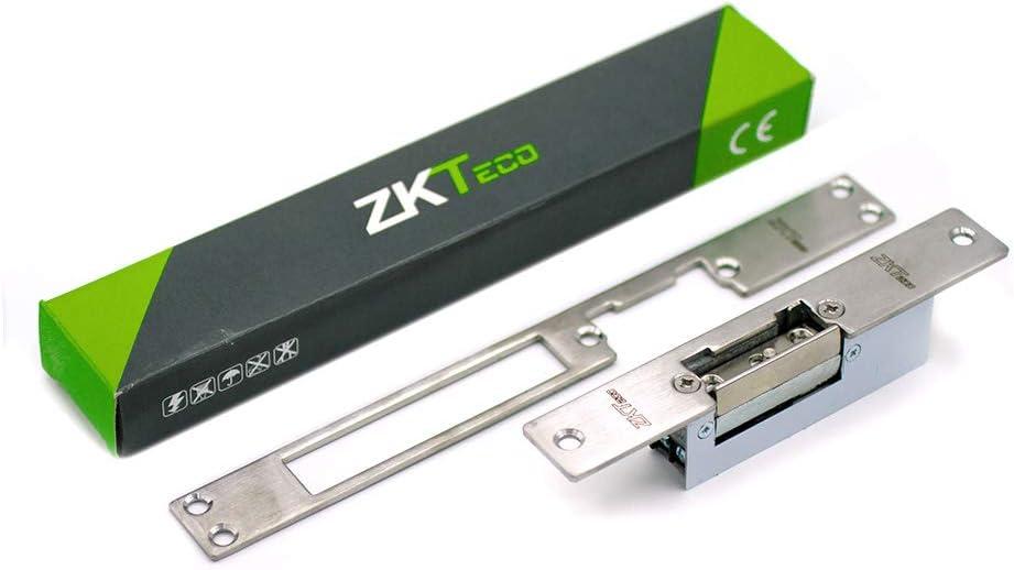 Cerradura eléctrica - V AC - ZKTeco 3002 - Abrepuertas ajustable para puertas con sistema de desbloqueo - Disponible versión fija o ajustable.