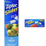 quart freezer bags slider - Ziploc Slider Freezer Bag Multi-Size Combo Pack - Gallon, Quart