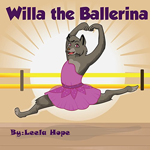 Funny Kids Books : Willa the Ballerina: beginning book readers set Poetry Books for Kids