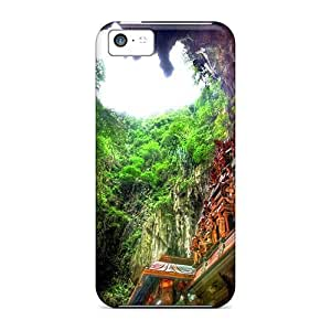 For NikRun Iphone Protective Case, High Quality For Iphone 5c Divine Cave Skin Case Cover