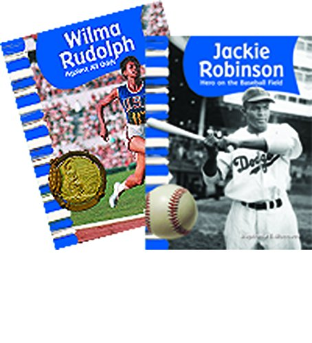 African American Athletes - 2 book set - Grades 1-2 (Social Studies - Rudolph Kids Wilma For