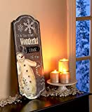 Traditional Holiday Snowman Wall Decor