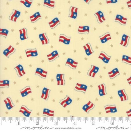Sew American~Flags Cotton Fabric by Moda -