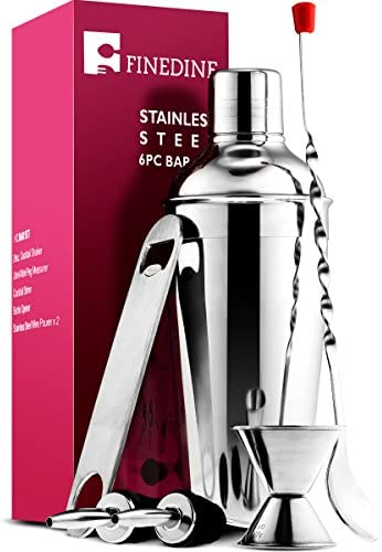 FineDine Cocktail Stainless Shaking Pourers product image