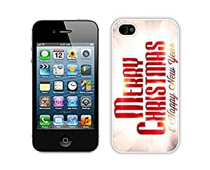 Case For Samsung Note 3 Cover,Merry Christmas Happy New Year Durability Case For Samsung Note 3 Cover Silicone White Case