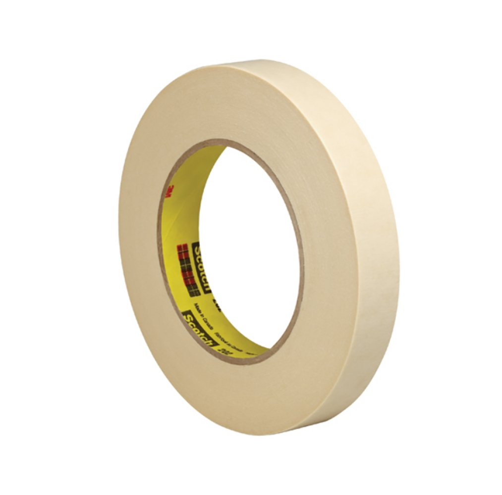 Pack of 2 RetailSource T934202x2 3M 202 Masking Tape 3//4 x 60 yd.