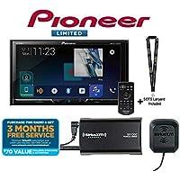 Pioneer AVH-2440NEX 7 DVD Receiver Apple CarPlay w/SiriusXM SXV300KV1 Tuner and a SOTS Lanyard