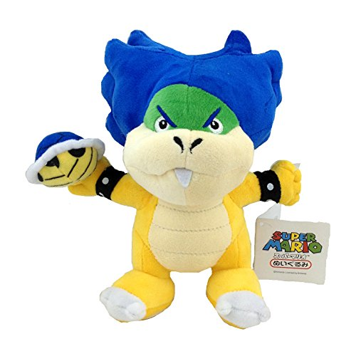 Generic Ludwig Von Koopa Super Mario Bros Plush Toy Kooky Koopalings Leader Shell Soft Figure Doll 8