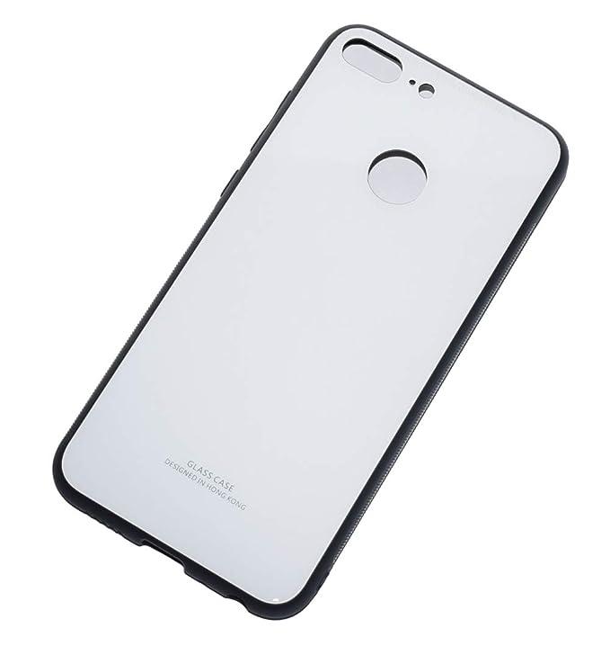 84 opinioni per Kepuch Quartz Huawei Honor 9 Lite Cover- TPU Morbido + Cover Posteriore in Vetro