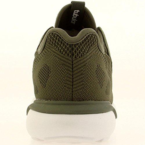 Runner B25087 Verde W Blancas Adidas Originals Tubular Zapatillas EqxBP