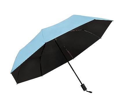 xiangyingzhijia paraguas Sombrillas Sombrillas Sombrillas, azul claro