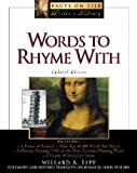 Words to Rhyme With, Willard R. Espy, 0816043124